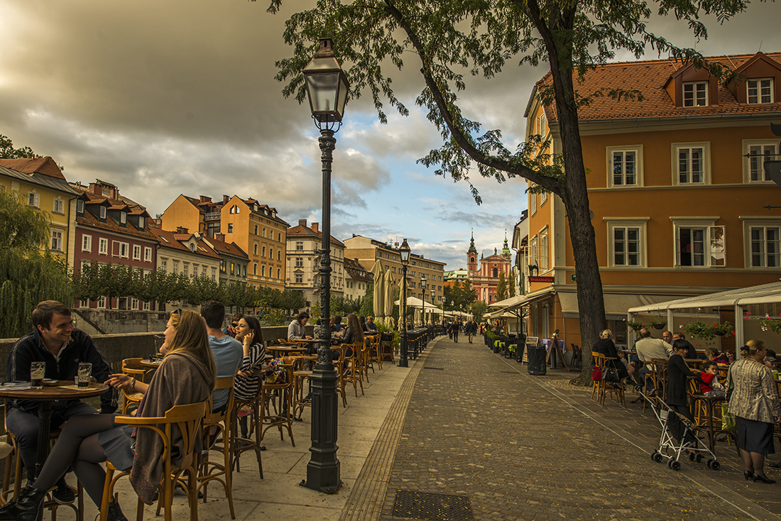 a walk in ljubliana